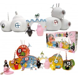 COFFRET LA MAISON DE BARBAPAPA  + 2 FIGURINES