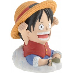 MINI-TIRELIRE ONE PIECE : LUFFY
