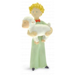 FIGURINE DE COLLECTION LE PETIT PRINCE ET LE MOUTON