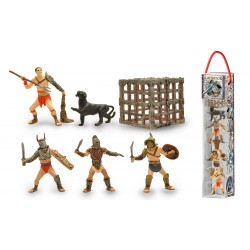 TUBO GLADIATEURS - 6 FIGURINES