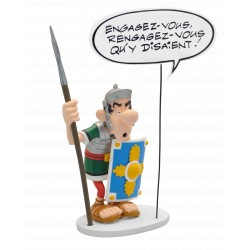 FIGURINE COLLECTION BULLES : LE ROMAIN