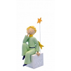 FIGURINE DE COLLECTION LE PETIT PRINCE RÊVEUR