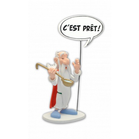 FIGURINE COLLECTION BULLES : PANORAMIX