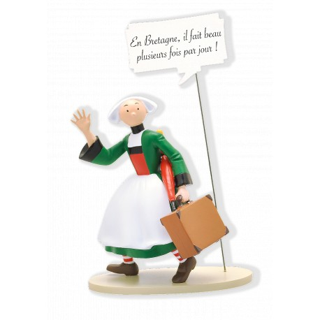 FIGURINE COLLECTION BULLES : BECASSINE