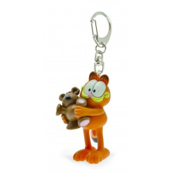 PORTE-CLES GARFIELD ET SON OURS POOKY