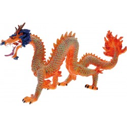 FIGURINE LE DRAGON CHINOIS ROUGE