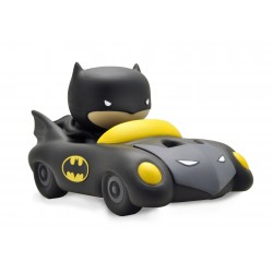 TIRELIRE CHIBI BATMAN ET LA BATMOBILE