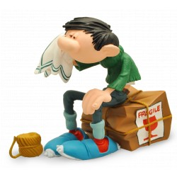 FIGURINE DE COLLECTION GASTON CAISSE FRAGILE