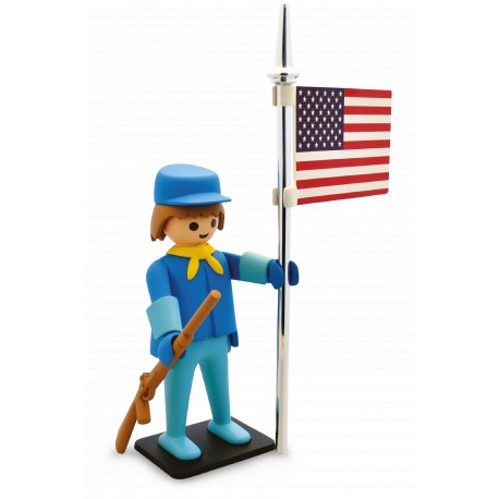 PLAYMOBIL VINTAGE DE COLLECTION : THE US SOLDIER